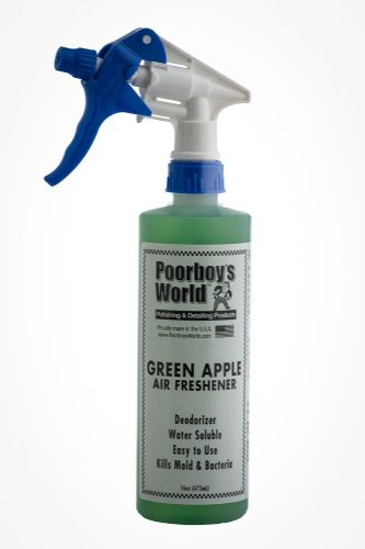 Poorboys Spray Air Freshener Green Apple Scent 473ml